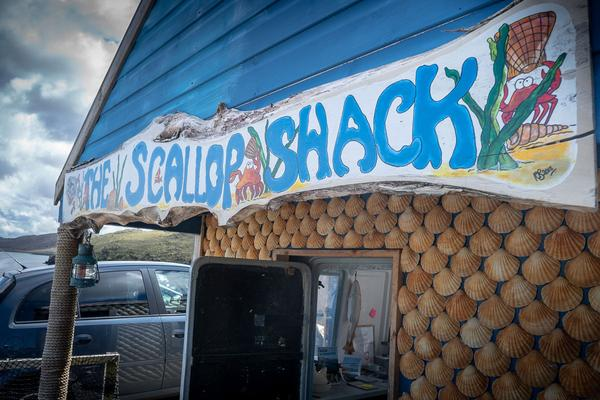 The Scallop Shack, Uig, Isle of Lewis