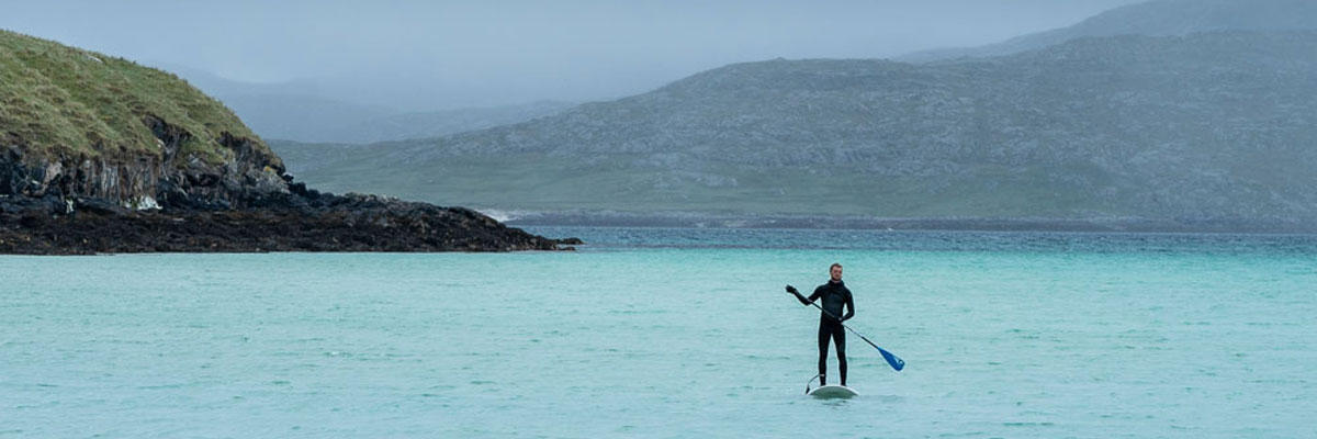 Paddleboarding and Surfing, Isle of Harris