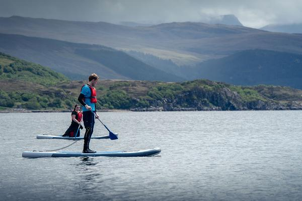 SUP, Ullapool, Wester Ross